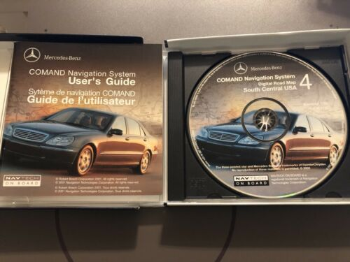 Mercedes Benz Comand Navigation System DVD #4 Part Number Q 6 46 0112 #CD168