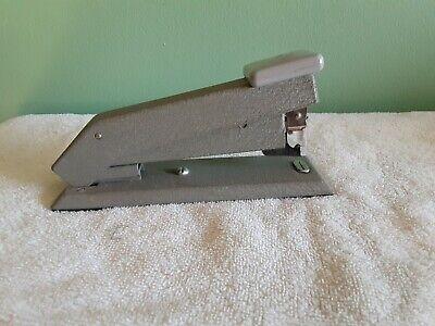 Vintage Bostitch Heavy Duty Gray Desk Stapler