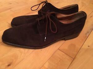 Moreschi suede shoes