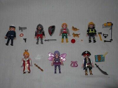 Playmobil People + Accessories Zoo Keeper, Pirate, Policeman, Fireman, Fairy 3