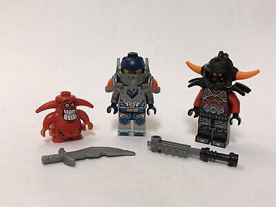 Lego 70315 Nexo Knights Clay's Rumble Blade Minifigure Lot Figures Nice