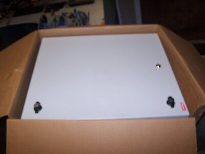 New Hoffman L-box Wall Mount Cabinet 24 X 20 X 10 Quarter Turn Dbl242010g