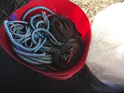 Bags of ropes