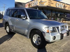 2004 Mitsubishi Pajero Turbo Diesel engine Automatic seven seater Underwood Logan Area Preview