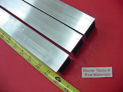 3 Pieces 1-12x 1-12x 18 Wall X 48 Long Aluminum Square Tube 6063 T52