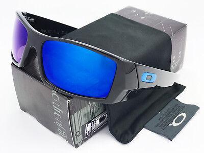 Sunglasses Gascan Polarized Oakley@@Bright Black Blue Mercury Iridium
