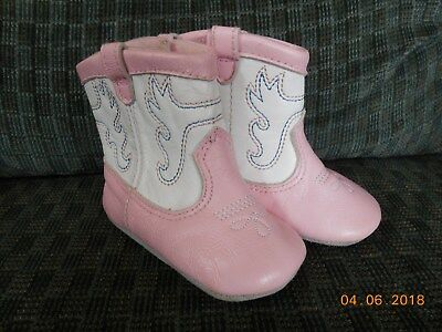 Pink And White Cowboy Boots (Pink and White