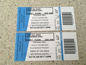 Panic! at the Disco Melbourne Roxburgh Park Hume Area Preview