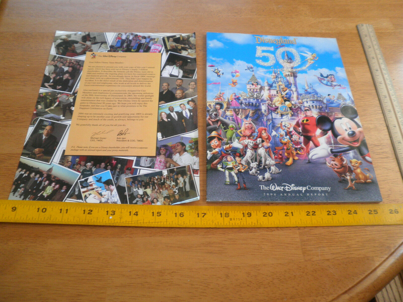 walt disney annual report 2011