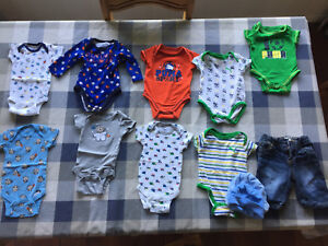 Baby Boy 0-3 month lot