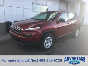 2015 Jeep Cherokee Sport No Accidents - One Owner - 4x4
