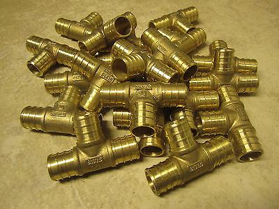 "25 pieces - 3/4"" tee Pex   - Brass PEX pipe Fitting"