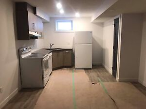 Brand new 2 bed suite! Utilities included