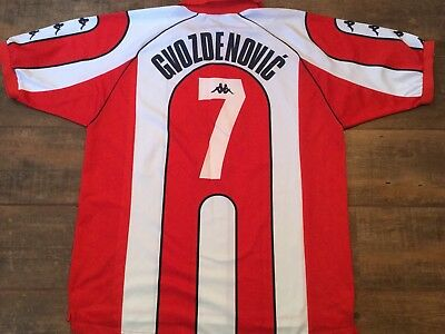 2000 Red Star Belgrade Player Issue Gvozdenovic Football Shirt Crvena Zvezda  image