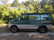 MITSUBISHI DELICA SPACEGEAR 4WD TURBO DIESEL AUTOMATIC Cardiff Lake Macquarie Area Preview