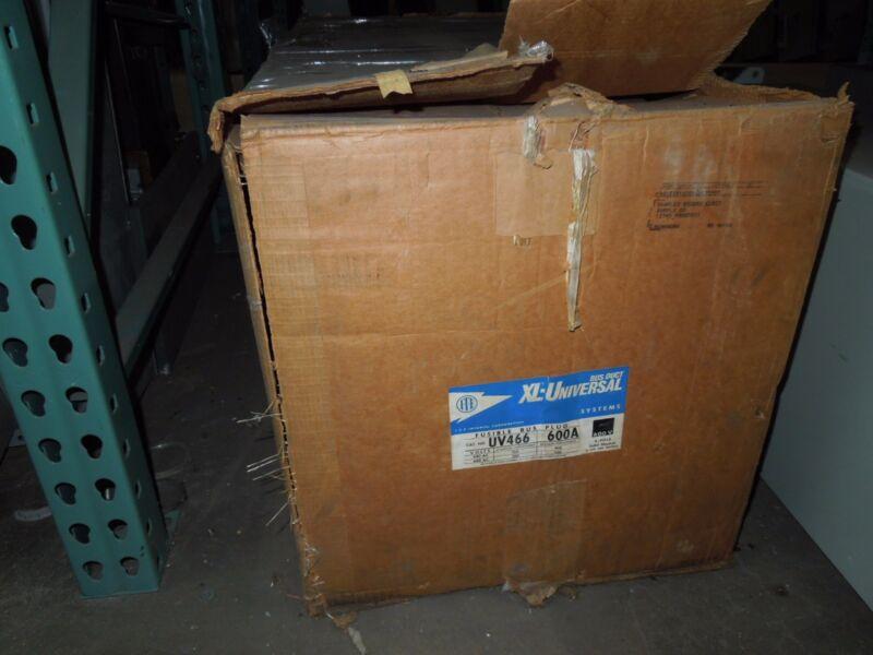 Ite Uv466 600a 3ph 4w 600v Fusible Busplug New Surplus In Box