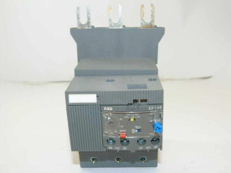 ABB EF146-150 Electronic Overload Relay 54-150A NEW 1yr Warranty