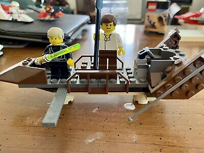 Lot of 4 Complete Retired Star Wars Lego sets 7134, 7104, 7124, 7106