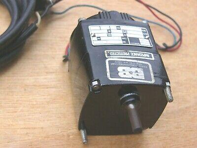 Bodine Gear Motor 115v 11w 200 Rpm 60 Hz Kci-24a2