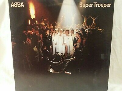 ABBA Super Trouper LP Atlantic Records SD 16023 VG+ 1980