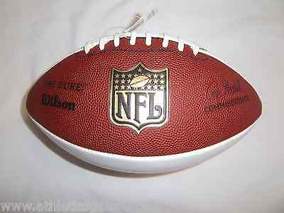 Wilson F1192 Nfl Autograph Football Replica Signature Of  Roger Goodell