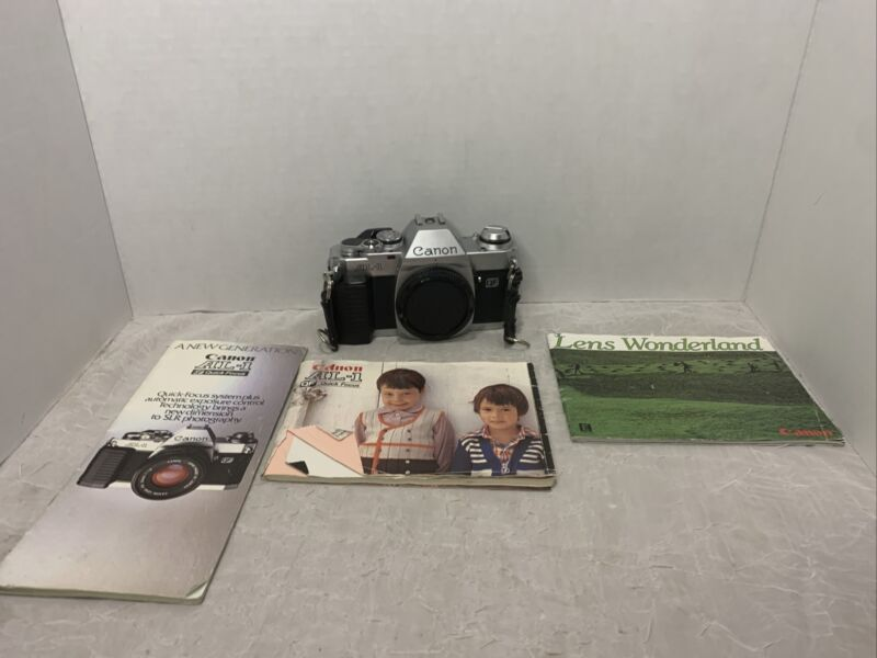 Canon AL-1 QF 35 mm Camera Body Japan Untested Parts Only Or Repair