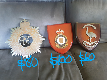These military plaques from $60 each Joyner Pine Rivers Area Preview
