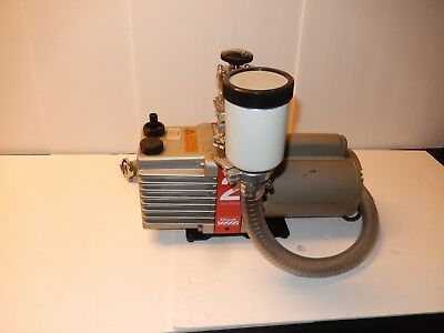 Edwards 2 Two Stage Vacuum Pump - Fl20 Foreline Trap - Mdc Kav-100 Valve