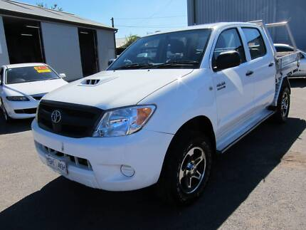 2007 Toyota Hilux Ute 4x4 D4D DUAL CAB Tray Back