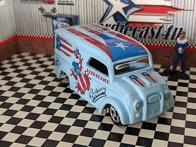 HOT WHEELS DAIRY DELIVERY TRUCK LECHERA CUSTOM PUERTO RICO LOOSE 1/64 SCALE