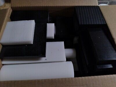 Delrinacetal Assorted Box 19 - 20 Lbs Of Plastic Medium Flat Rate Box