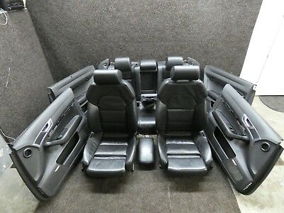 Original Audi A6 4F Leather Trim Leather Memory Black Sportsitze Heated Seats