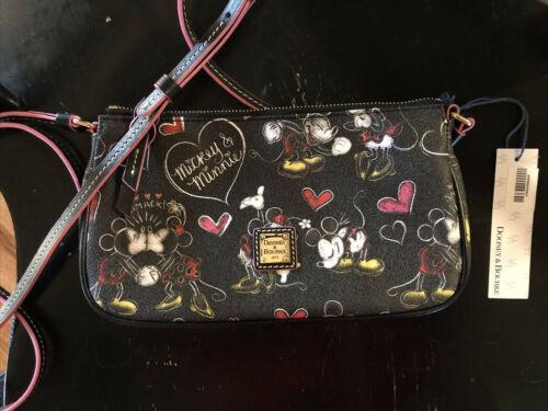 NWT Dooney And Bourke Disney Romancing Minnie Pouchette
