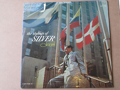 HORACE SILVER The Stylings Of Silver JAZZ LP Blue Note 1973 Reissue