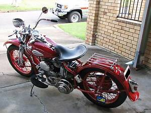 1942 Vintage Harley Davidson WLA Brisbane City Brisbane North West Preview