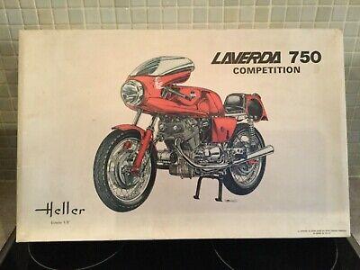 rare Boxed heller laverda 750 competition scale 1/8 heller 981 laverda breganze