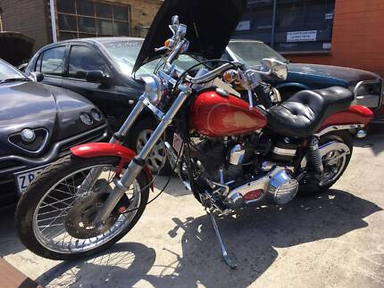 Harley Davidson 6000km 1985