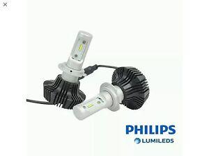 kit full led philips h7 moto 4000 lm lumen 6000k xenon xeno garanzia italia 24 ebay. Black Bedroom Furniture Sets. Home Design Ideas