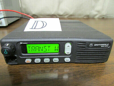 D - Motorola Mcs 2000 Mobile Radio 800mhz Uhf 250 Channels M01hx812w As-is