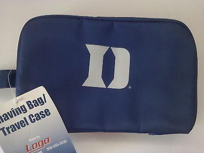 Duke Blue Devils Shaving Kit Case Bag NIP NCAA 10x5x7
