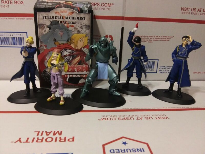 Fullmetal Alchemist Character Anime Figure Set of 5
