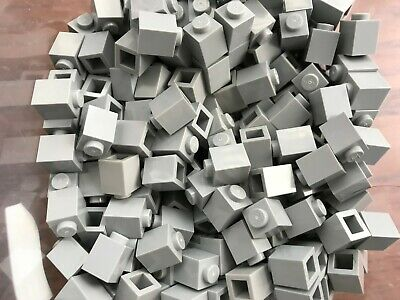 LEGO PARTS-BRAND NEW-#3005-1 x 1 LIGHT BLUISH GREY BRICK-50 PIECES