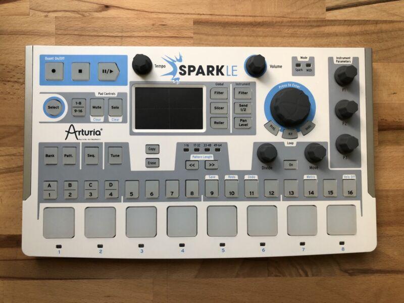 Arturia Spark LE Drum Machine Sample Pad Groove Lab