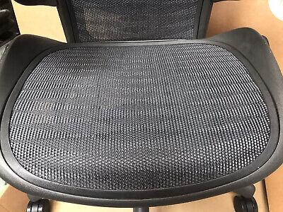 Size B Tuxedo Herman Miller AERON chair with Lumbar Support