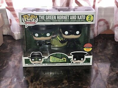 Funko Pop  Toy Tokyo Sdcc 2018 Exclusive The Green Hornet And Kato 2 Pack