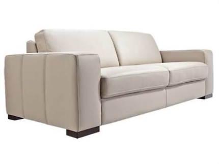 3 seater Bay Leather Republic lounge in great condition