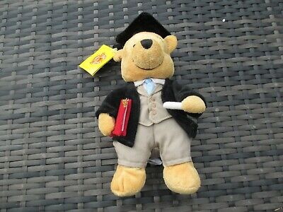BNWT Disney Store Winnie The Pooh - TEACHER - Bear Soft Plush Beanie Toy 9