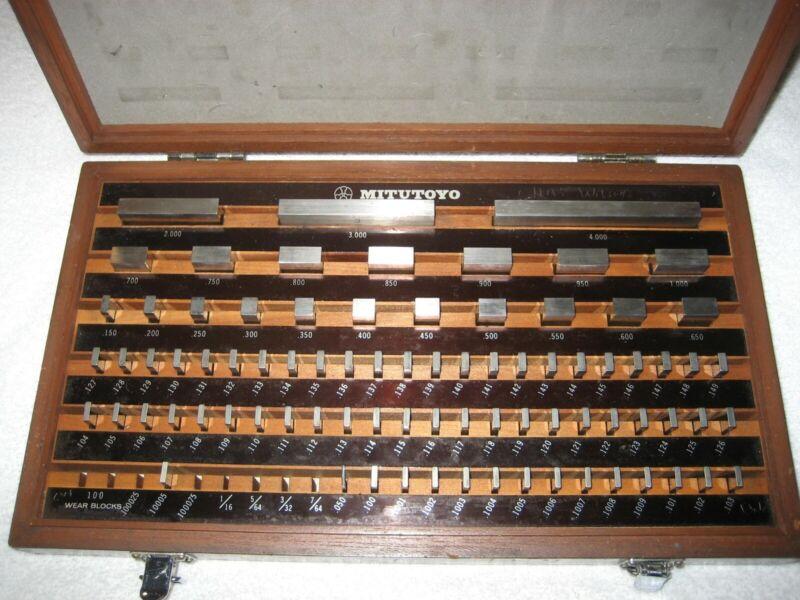 Mitutoyo 516-902 guage blocks