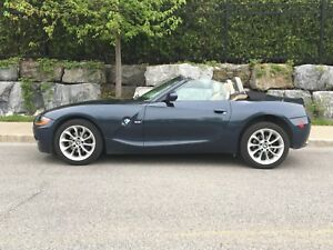 2003 BMW Z4 5 speed manual only 100KMS