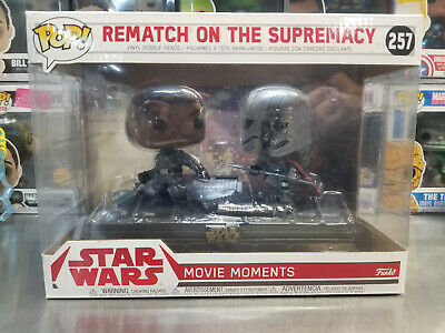 Funko Pop! Star Wars Movie Moments Rematch on the Supremacy #257 *Near Mint*
